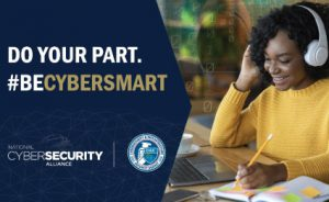 NCSAM October 2020 - Do Your Part, Be Cybersmart